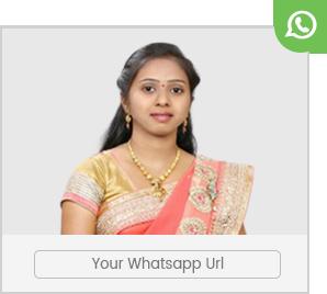 Share your profile through whatsapp easily at aryavysyamarriage.com